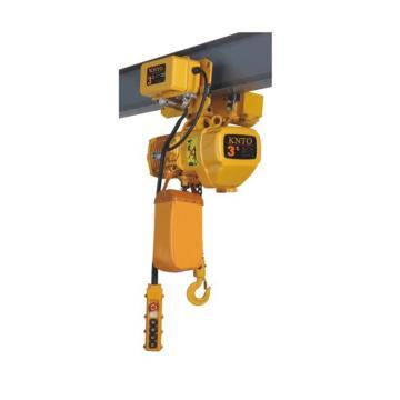 起泽环链电动葫芦 运行式, 380V HHBD-3T*3米(单链)5.6M/min