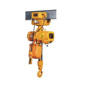 起泽环链电动葫芦 运行式, 380V HHBD-3T*3米(双链) 3.4M/min