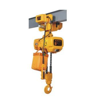 起泽环链电动葫芦 运行式, 380V HHBD-5T*3米(双链) 2.8M/min