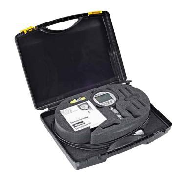 Parker数显压力表套装,检测用,记录峰值,精度0.5%,压力100bar,带设备箱,过度接头,测压软管,Service junior,SCJN-KIT-100