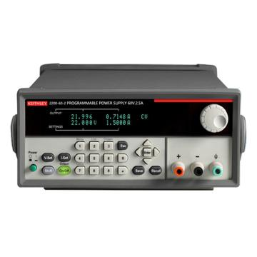 KEITHLEY/吉时利 USB 和 GPIB 可编程直流电源2200-60-2,单通道,60V,2.5A