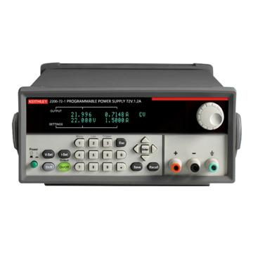 KEITHLEY/吉时利 USB 和 GPIB 可编程直流电源2200-72-1,单通道,72V,1.2A