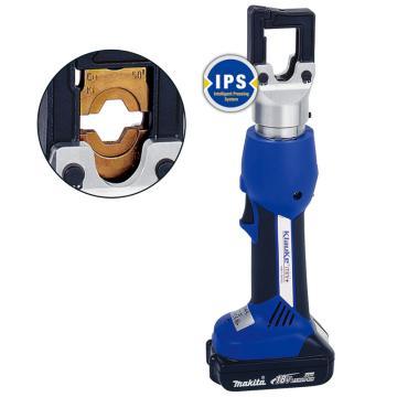 柯劳克充电式液压压线钳,35KN,压接能力6-150mm²,EK354L,带一电一充