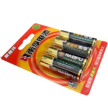南孚 5号电池,4节/卡,LR6-5号 1.5V 单位:卡