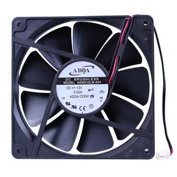 ADDA 散热风扇 ADN512LB-A91,DC12V,135×135×25mm