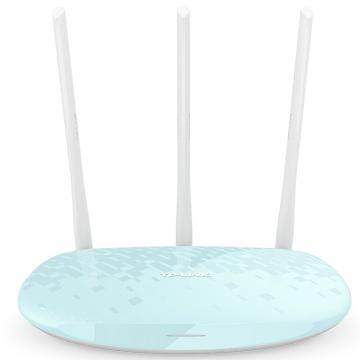 普联(TP-LINK) 路由器,TL-WR886N 450M无线路由器(水蓝) 智能路由 WIFI无线穿墙 单位:个