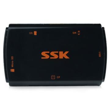 飚王 SCRM059 多合一多功能存储卡读卡器USB3.0  (单位:个) 黑色