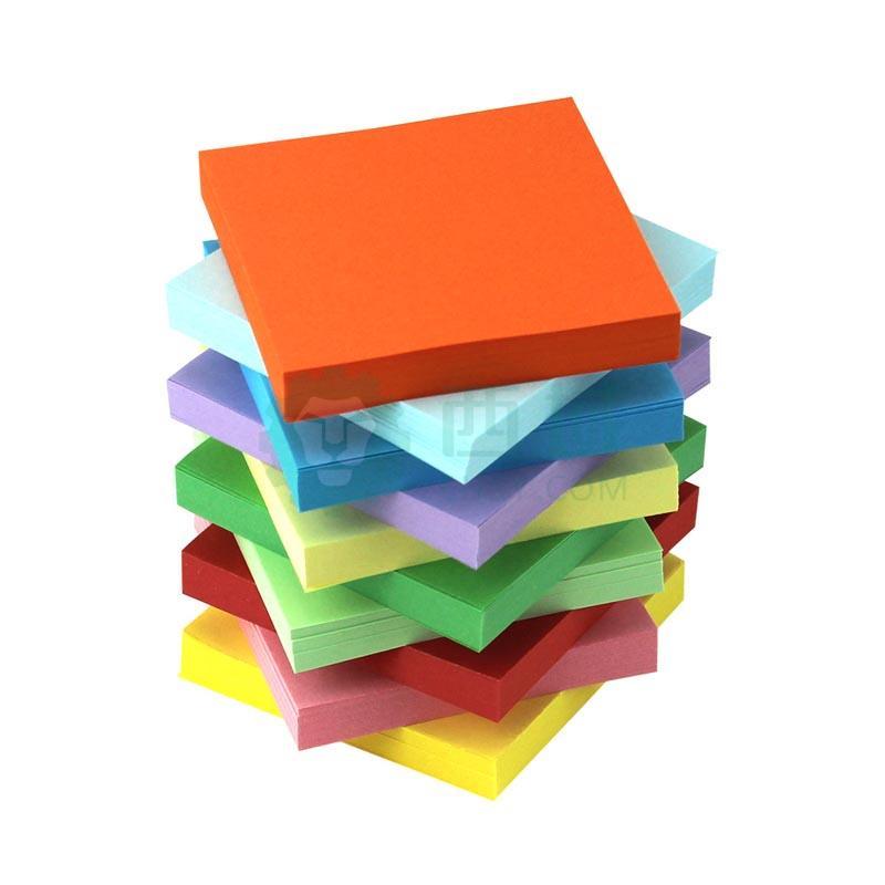 折纸彩纸儿童材料玫瑰彩色手工折纸正方形手工折纸纸【15*15cm 1000张