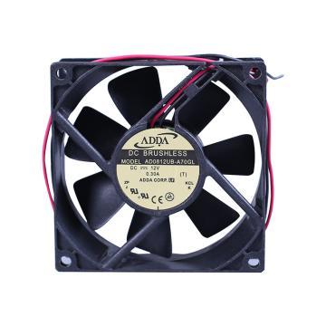 ADDA 散热风扇 AD0812UB-A70GL,DC12V,80×80×25mm