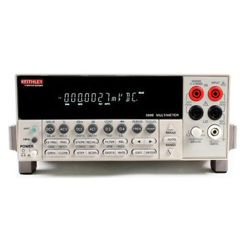 KEITHLEY/吉时利 六位半数字台式万用表,(中国版电压配置)2000/E