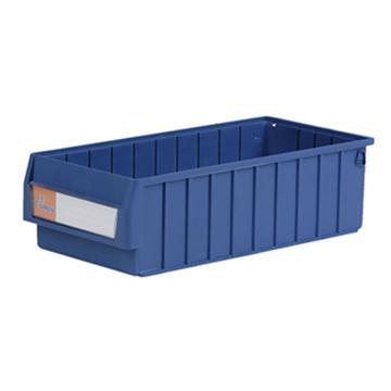 环球分隔式零件盒,500*235*140mm 蓝色全新料 不含分隔片 12个/箱 整箱起订(另配分隔片:MVY200)