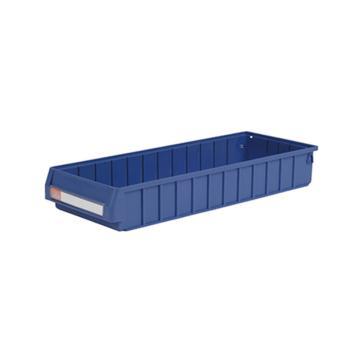 环球分隔式零件盒,600*235*90mm 蓝色全新料 不含分隔片 12个/箱 整箱起订(另配分隔片:MVY205)