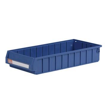 环球  分隔式零件盒,500*235*90mm 蓝色全新料 不含分隔片 18个/箱 整箱起订(另配分隔片:MVY205)