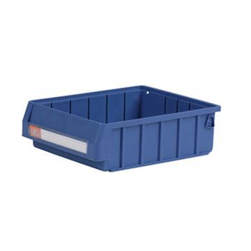 环球分隔式零件盒,300*235*90mm 蓝色全新料 不含分隔片 24个/箱 整箱起订(另配分隔片:MVY205)