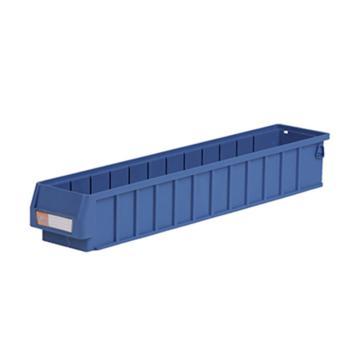 环球分隔式零件盒,600*117*90mm 蓝色全新料 不含分隔片 24个/箱 整箱起订(另配分隔片:AGQ215)
