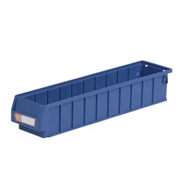环球分隔式零件盒,500*117*90mm 蓝色全新料 不含分隔片 36个/箱 整箱起订(另配分隔片:AGQ215)