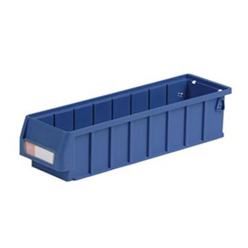 环球  分隔式零件盒,400*117*90mm 蓝色全新料 不含分隔片 36个/箱 整箱起订(另配分隔片:AGQ215)