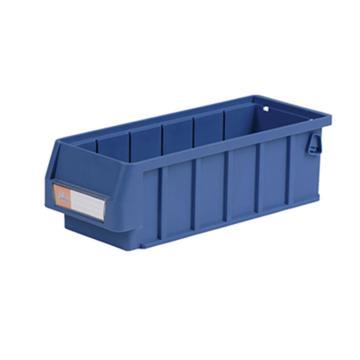 环球分隔式零件盒,300*117*90mm 蓝色全新料 不含分隔片 48个/箱 整箱起订(另配分隔片:AGQ215)