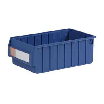 环球分隔式零件盒,400*235*140mm 蓝色全新料 不含分隔片 12个/箱 整箱起订(另配分隔片:MVY200)