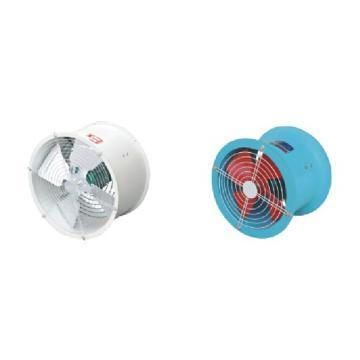 隔爆型轴流风机(排风型,风叶出风),巨风,BT35-11-4-1.1KW(电机YF90S-2,380V),2900rpm,防爆等级Exd ⅡBT4