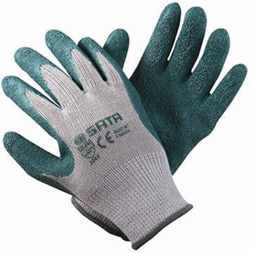 乳胶手套(掌浸),尺码:9