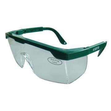 世达SATA 防护眼镜,YF0101,亚洲款防冲击眼镜(不防雾)