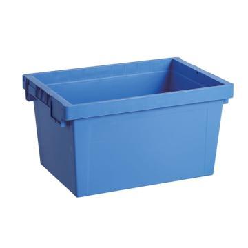 环球 平盖斜插箱,尺寸(mm):600*400*330,蓝色,不含箱盖