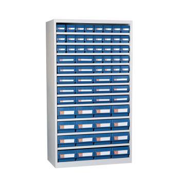 环球 无门零件盒铁柜,宽*深*高(mm):1000*450*1800,含64个PP零件盒