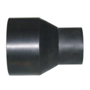万鑫军联/WXJL HDPE给水管材(对接) 热熔异径直接,S140×125,PN16