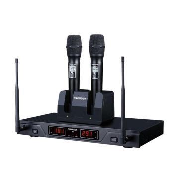 得勝(Takstar) UHF無線麥克風, KTV卡包K歌交互智能安裝工程話筒 X8 單位:套