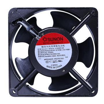 建准 方形交流散热风扇(120×120×38mm),DP201A 2123HBT.GN