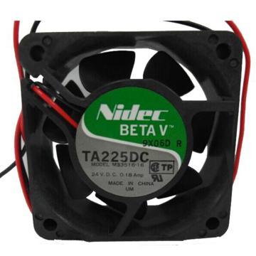 NIDEC 散热风扇 TA225DC 24VDC,MODEL M33516-16