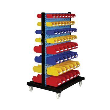 环球 移动型双面物料整理架,960X610X1560mm,含112个零件盒,散件发货,安装费另询