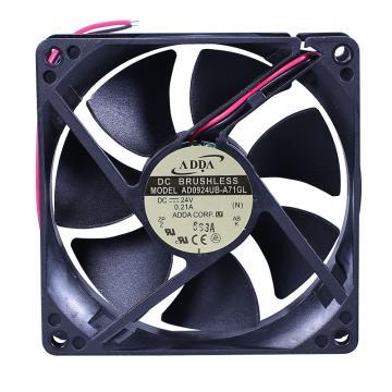ADDA 散熱風扇,AD0924UB-A71GL,DC24V,0.21A,92×92×25mm