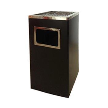 不锈钢烟灰垃圾桶,25*25*高62CM