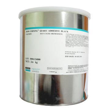 道康宁有机硅胶,高强度加热固化型,Q3-6611,黑色,3.6kg