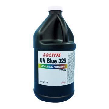 乐泰结构粘接胶UV Blue 326,1L