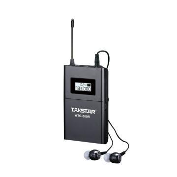 Takstar/得胜 WTG-500R 单接收 无线导览系统接收器 导游讲解同声传译