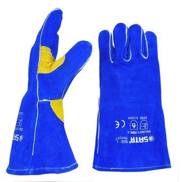世達SATA 焊接手套,FS0107-L,斜指焊接手套