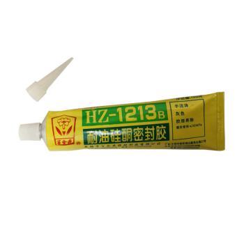 百合花 耐油硅酮密封胶,HZ-1213B,105g/支