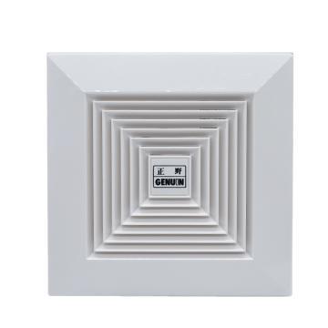 正野 天花板管道塑料换气扇,BPT12-13C,24W