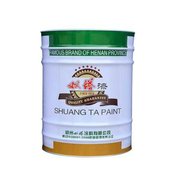 双塔 醇酸调和漆,黑,3kg/桶