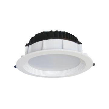 华荣 WAROM LED筒灯,RLEOL112-II-XL12,12W,开孔φ170,白光5500K,嵌入式