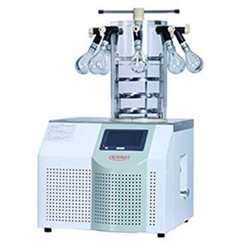 实验室台式冻干机,CTFD-10PT多歧管压盖型,冻干面积0.09㎡