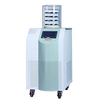 实验室立式冻干机,CTFD-12S标准型,冻干面积0.12-0.18㎡