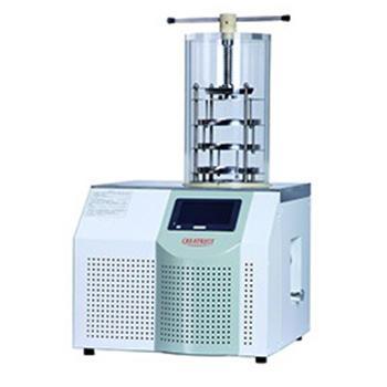 实验室台式冻干机,CTFD-10T压盖型,冻干面积0.09㎡