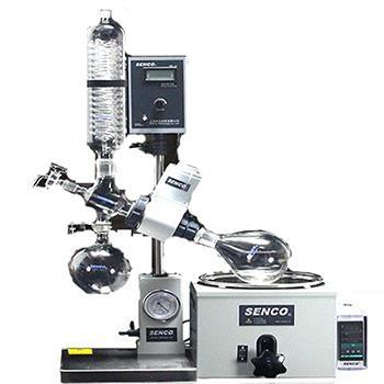 旋转蒸发仪,R206B,温控范围:0-99℃,转速:4-200rpm