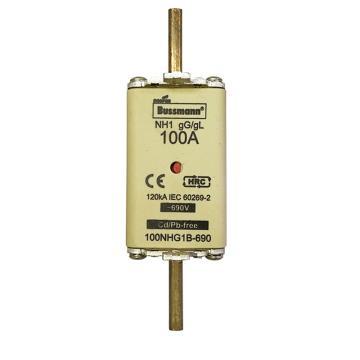 Bussmann 低压熔断器/NH系列熔断器,100NHG00B-690