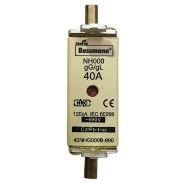 Bussmann 低压熔断器/NH系列熔断器,40NHG000B-690