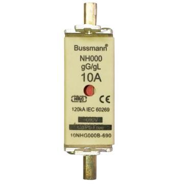 Bussmann 低压熔断器/NH系列熔断器,NH000 10A 690V